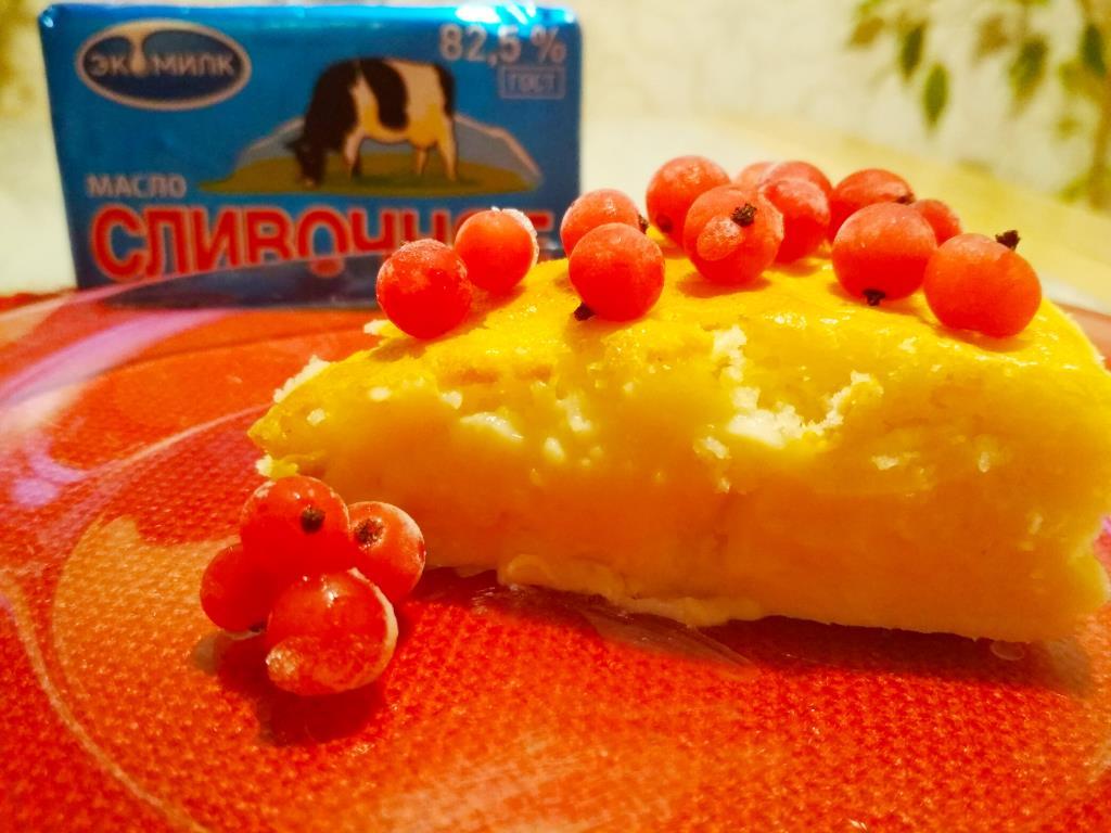 Бисквит со сливочным сыром