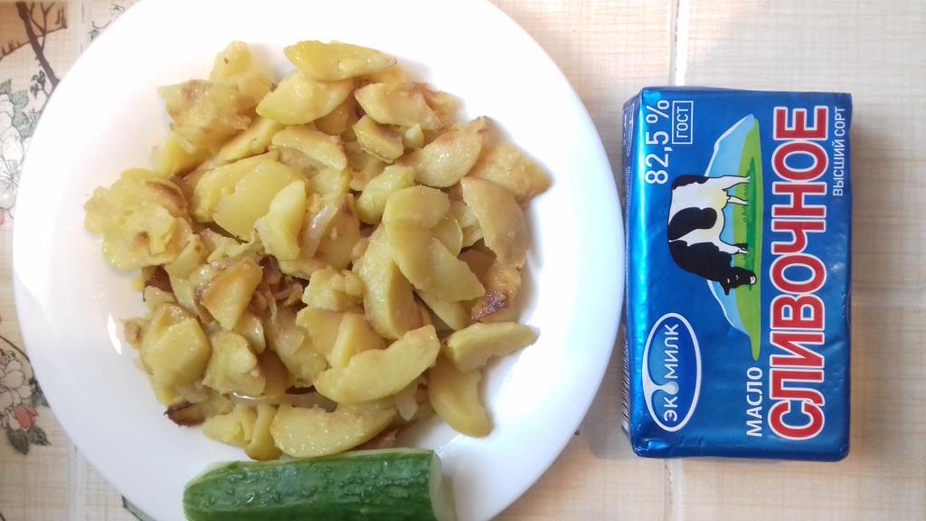 Картошечка на маслице Экомилк