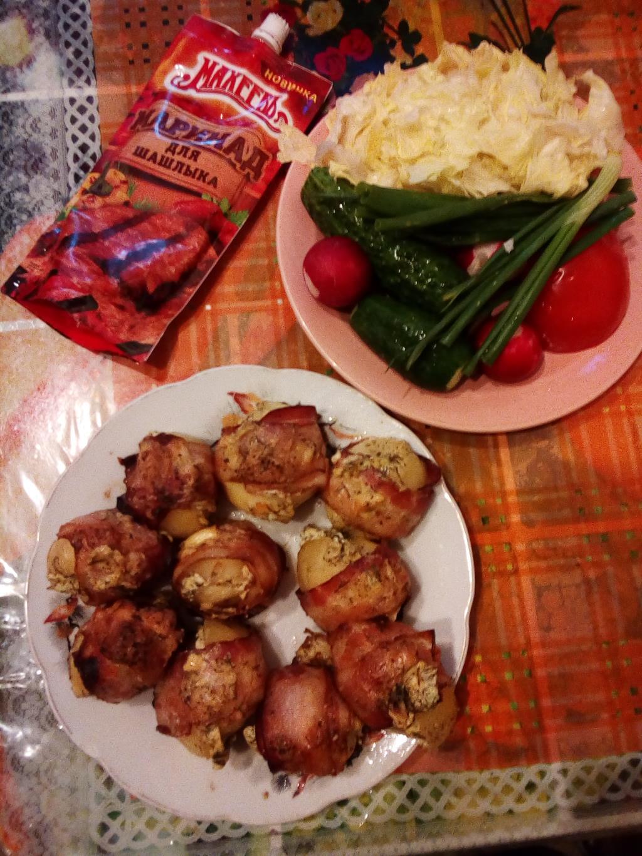 Картошечка в беконе