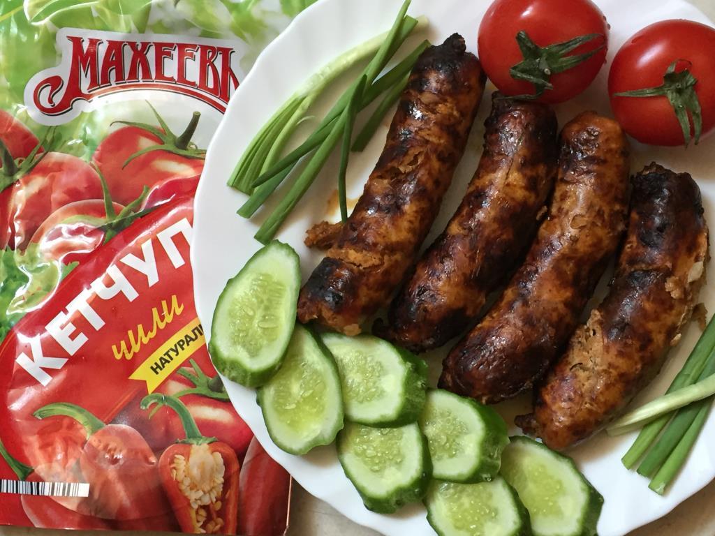 Домашние колбаски для гриля