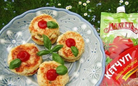Сендвичи из цветной капусты с кетчупом Махеевъ