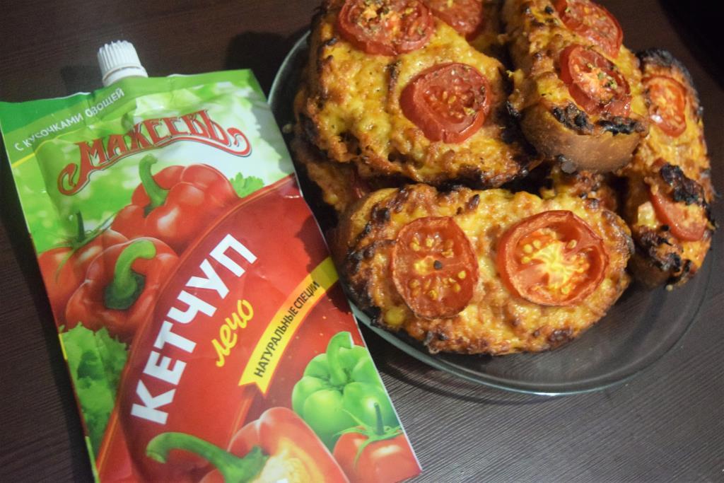 Ленивые мини-пиццы