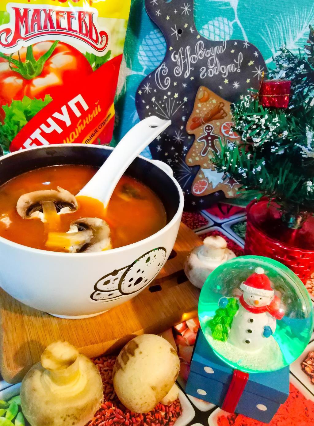 Грибной суп а ля Махеевъ