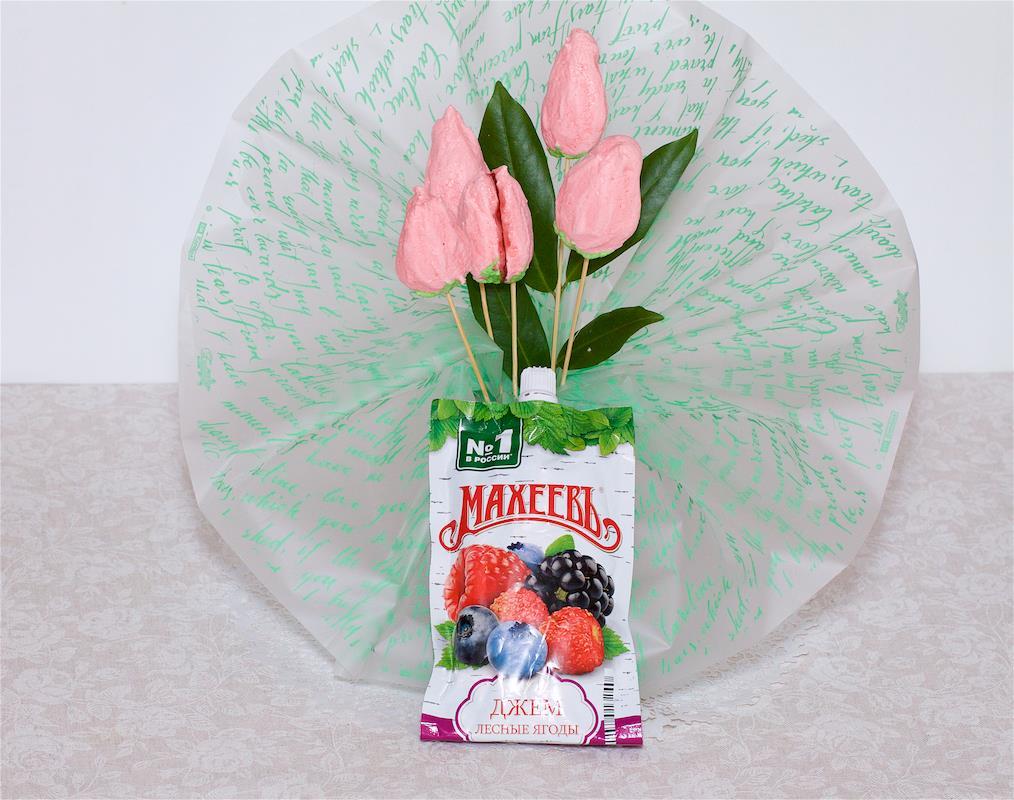 Десерт с джемом ТМ МахеевЪ «Букет для любимой»
