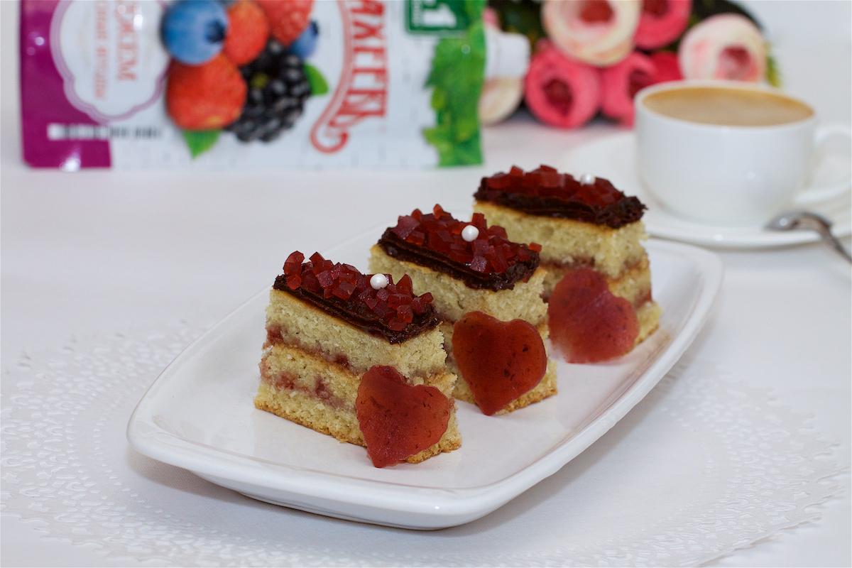 Постные пирожные с джемом ТМ МахеевЪ