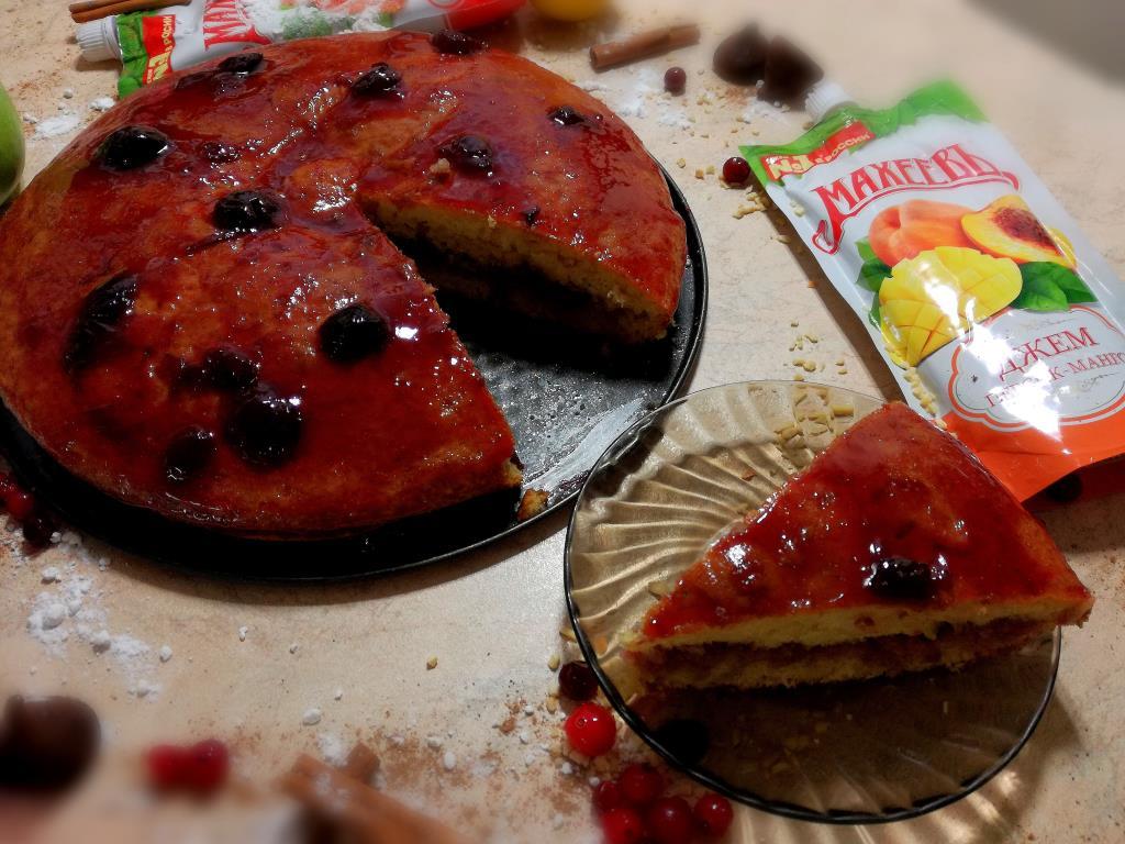 Легкий пирог