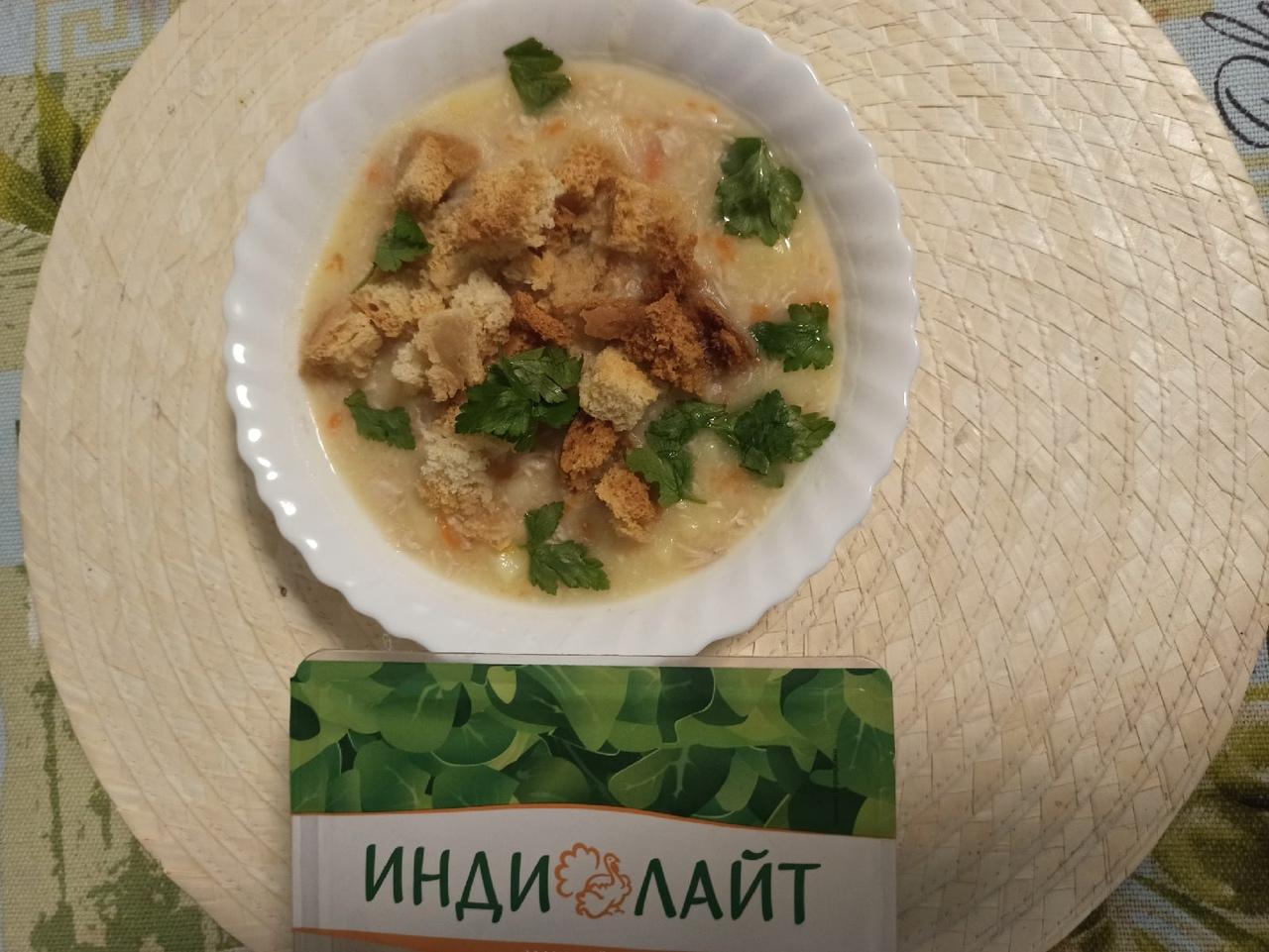 Картофельный суп с  индейкой Индилайт