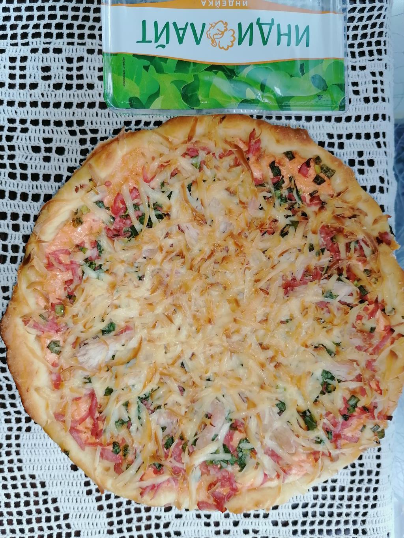 Пицца из филе грудки индейки