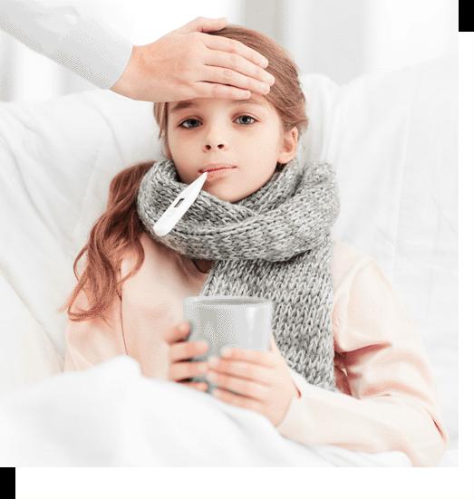Ребенок простыл: как кормить малыша во время болезни и в период восстановления