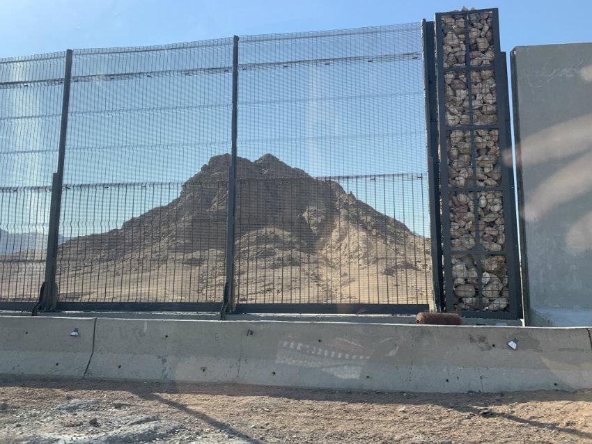Стена вокруг Шарм-эль-Шейха