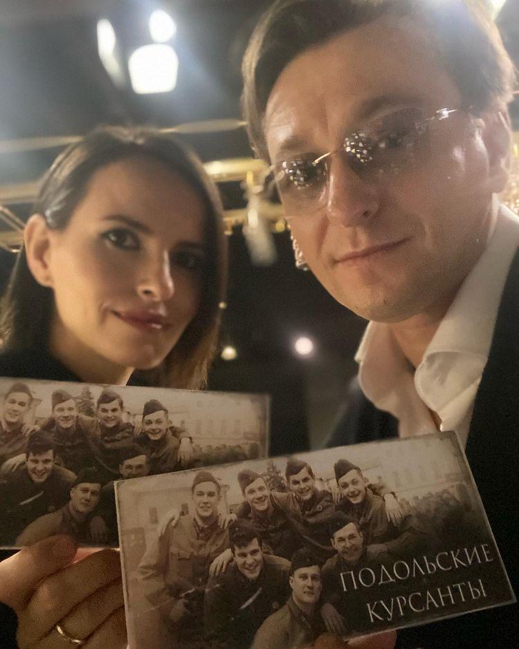 Сергей Безруков жена Анна Матисон