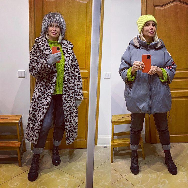 'Какая шапка лучше?' - Алёна Свиридова в образе Нади из 'Иронии судьбы'