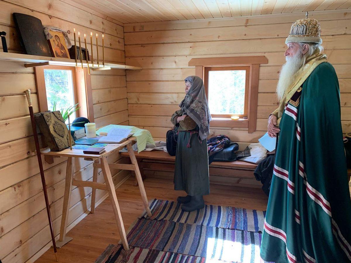 дом Агафьи Лыковой