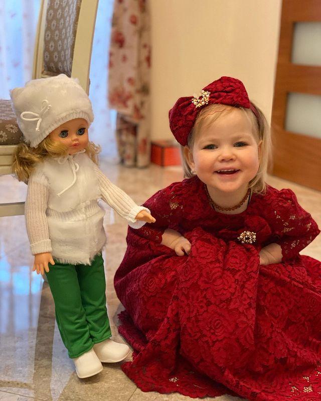 Лера Кудрявцева: самые трогательное фото 2-летней дочки