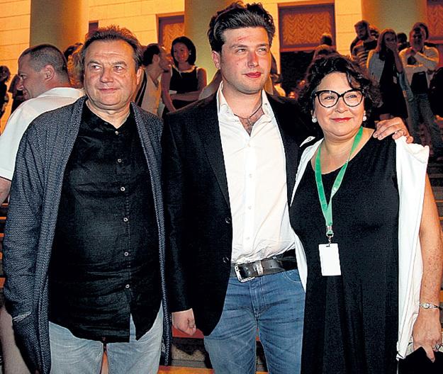 Алексей Учитель жена Кира Саксаганская сын