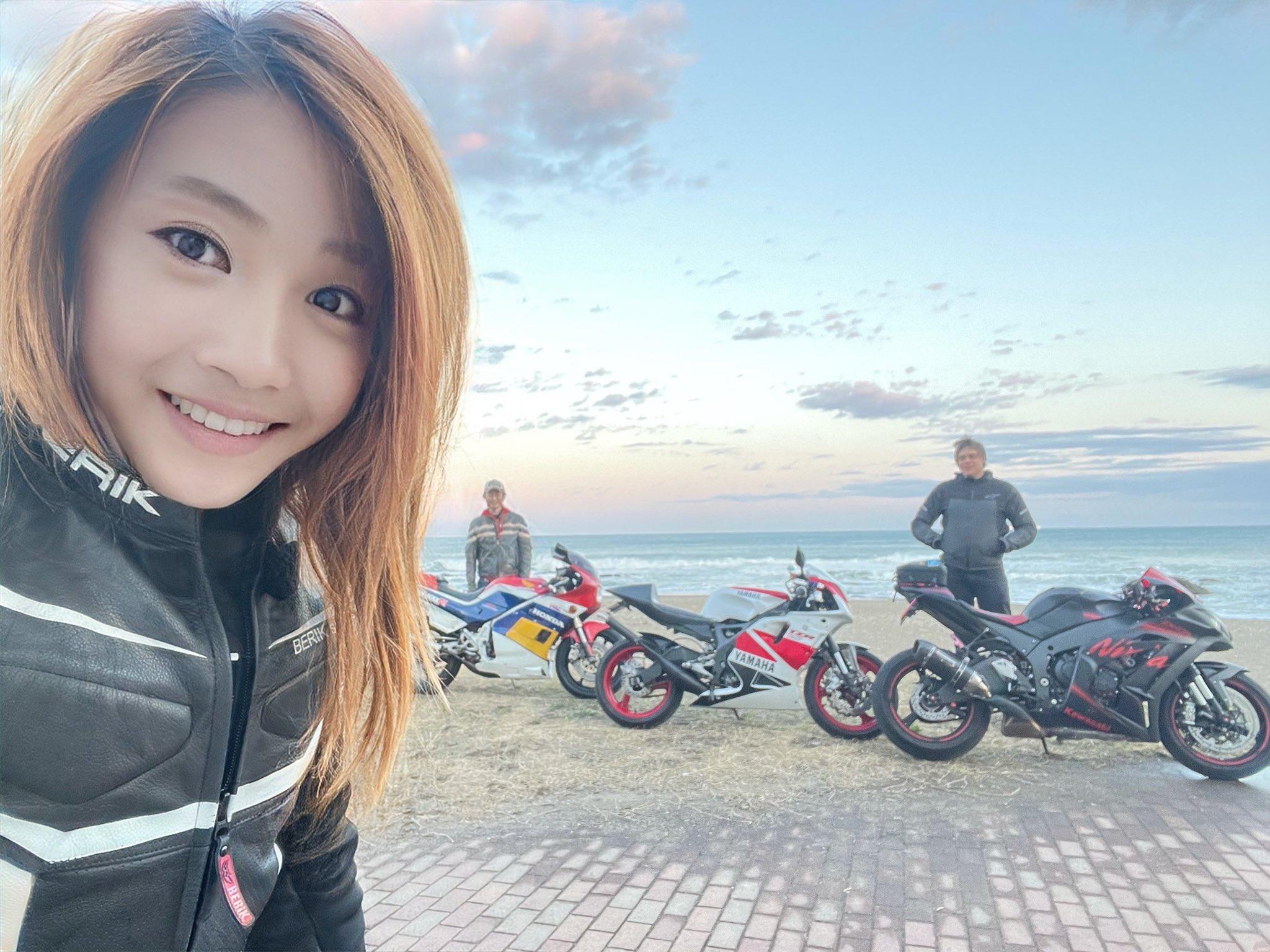 Японская байкерша