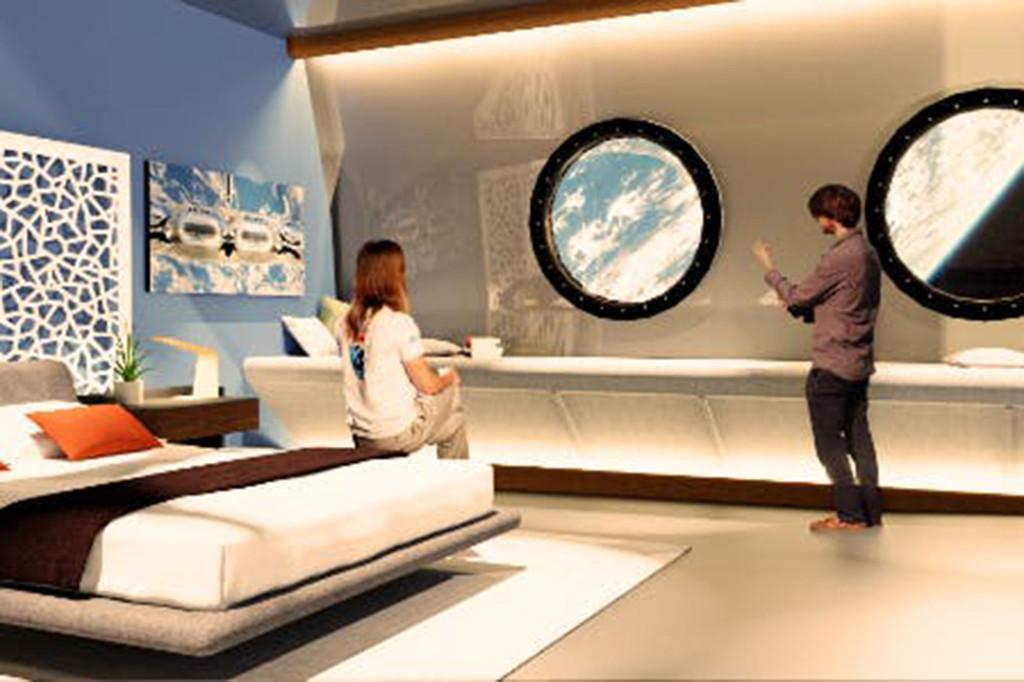 Первый космический отель Вояджер
