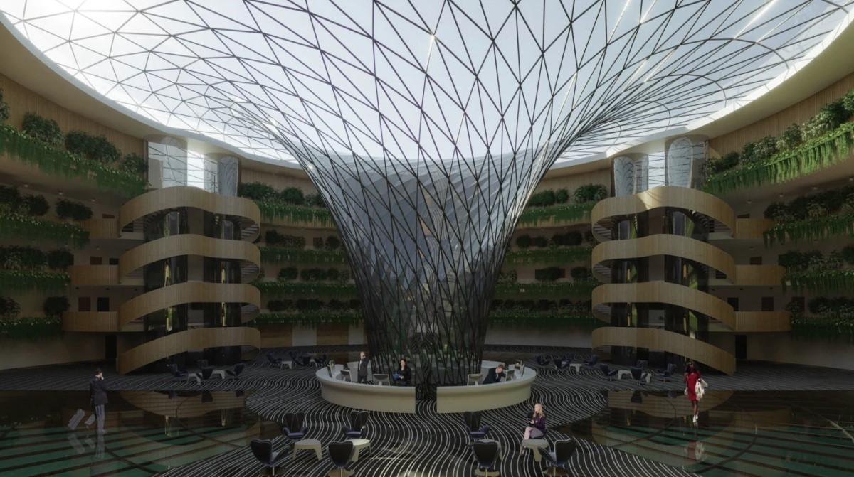 Плавучий отель в Катаре