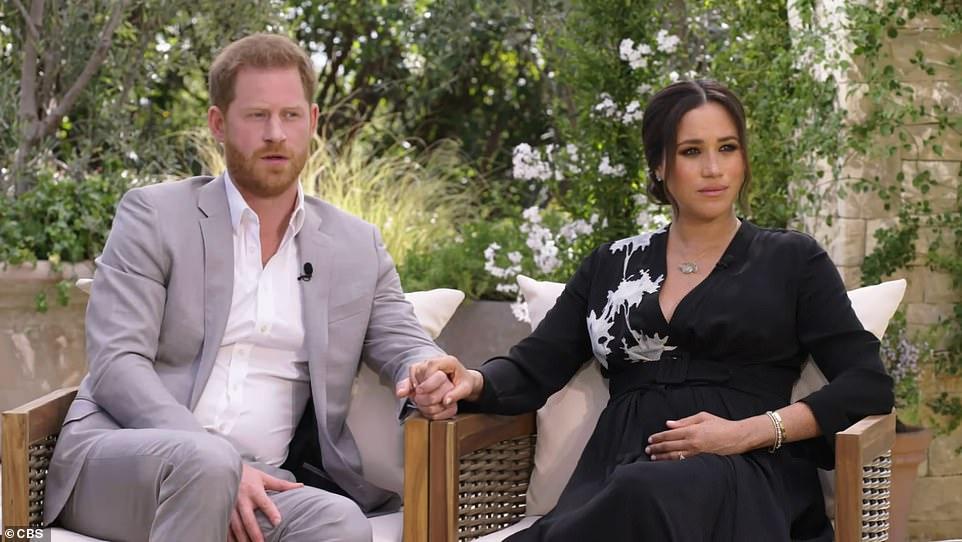 интервью принца Гарри и Меган Опре Уинфри