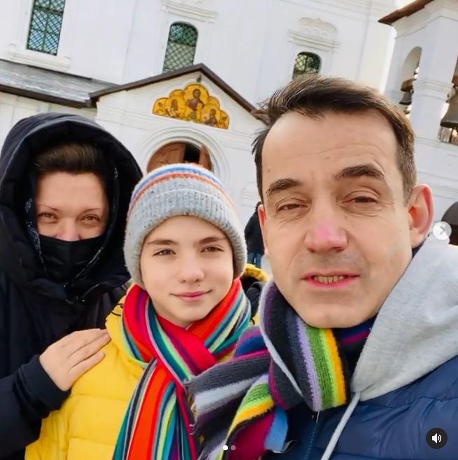 Дмитрий Певцов Ольга Дроздова сын