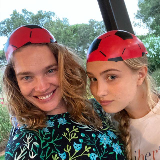Наталья Водянова: первое фото двух младших детей