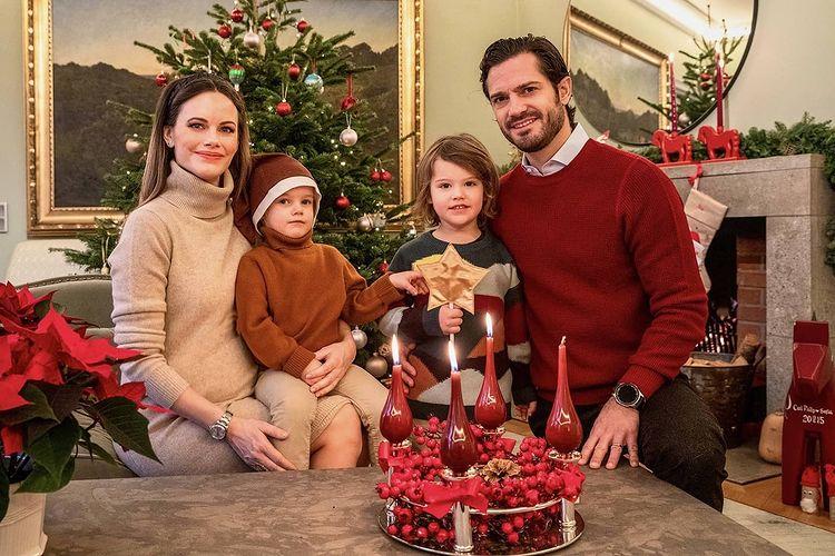 Принц Швеции Карл Филипп София дети