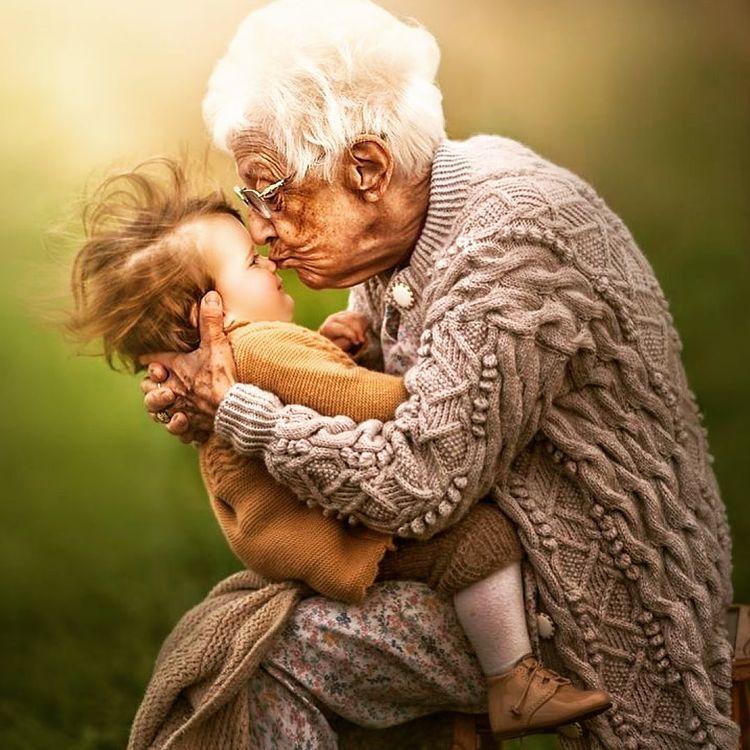 бабушка внучка