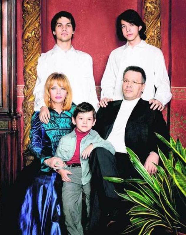 Екатерина Рождественская дети