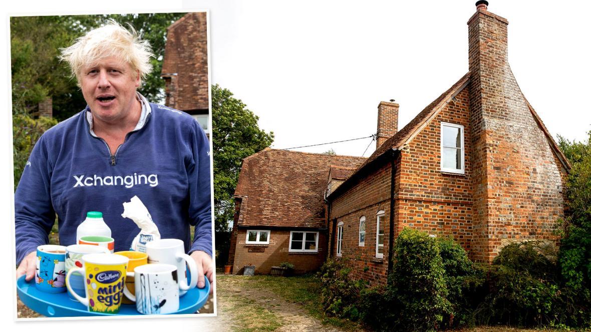 Борис Джонсон сдает свой коттедж