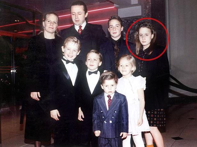 Маколей Калкин семья