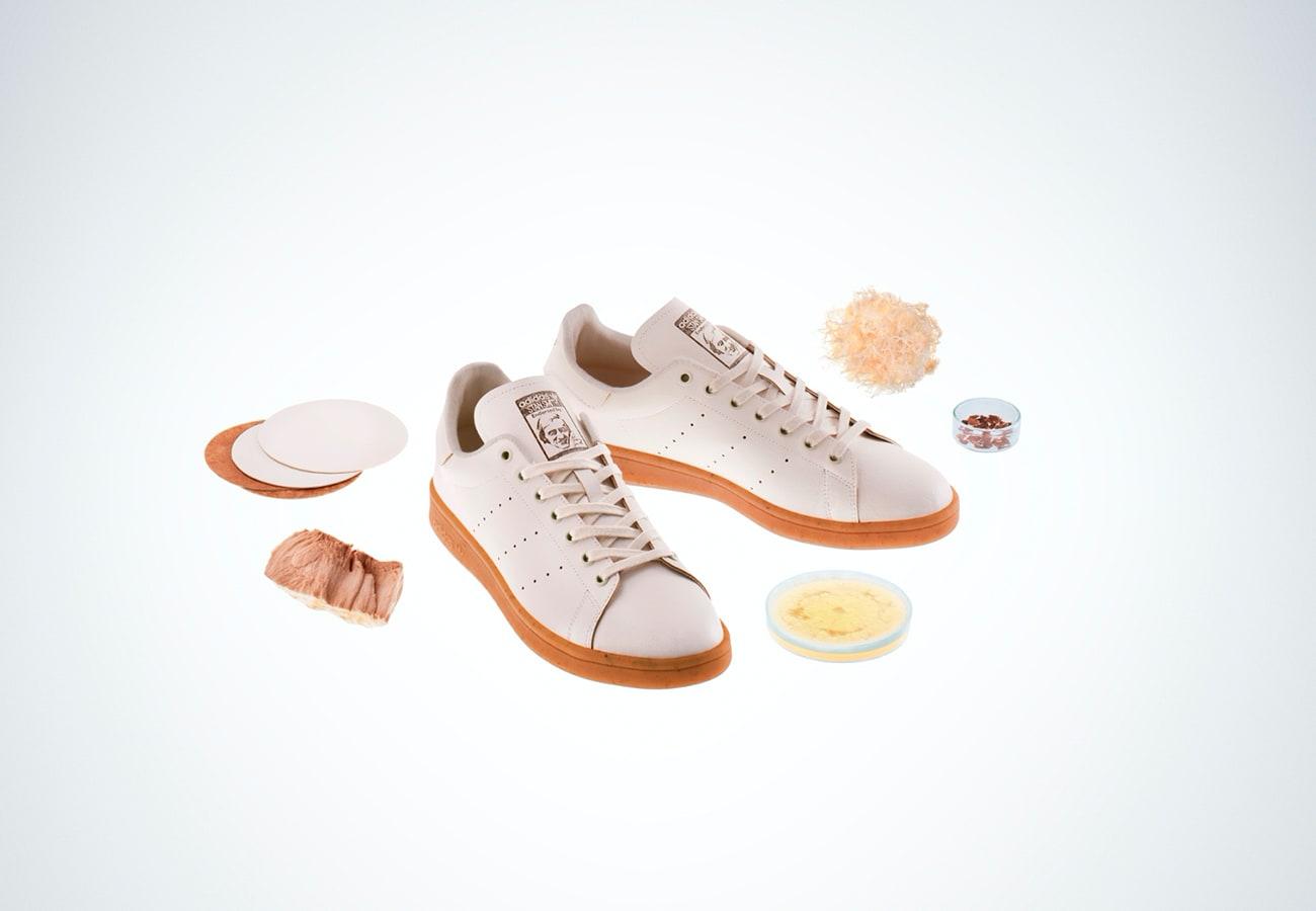 кроссовки из грибной кожи