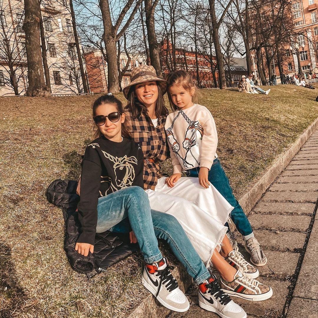 Ксения Бородина дети