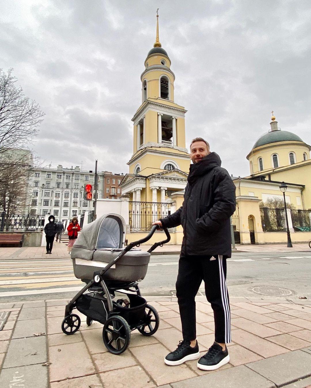 Дмитрий Шепелев сын Тихон
