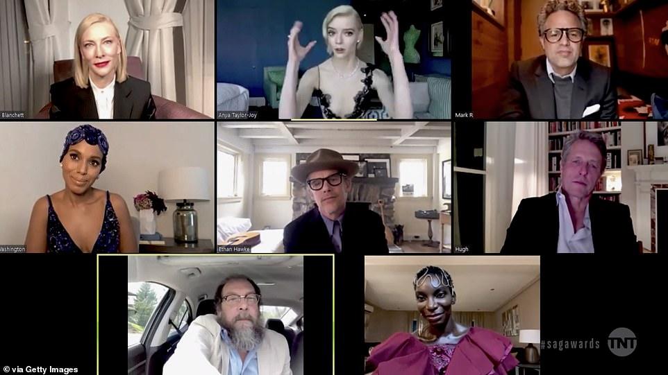 Аня Тейлор-Джой с глубоким декольте и другие звёздные образы на SAG Awards-2021