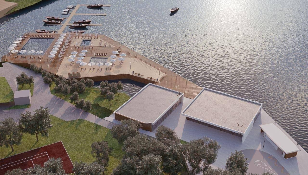 Северный речной вокзал курорт