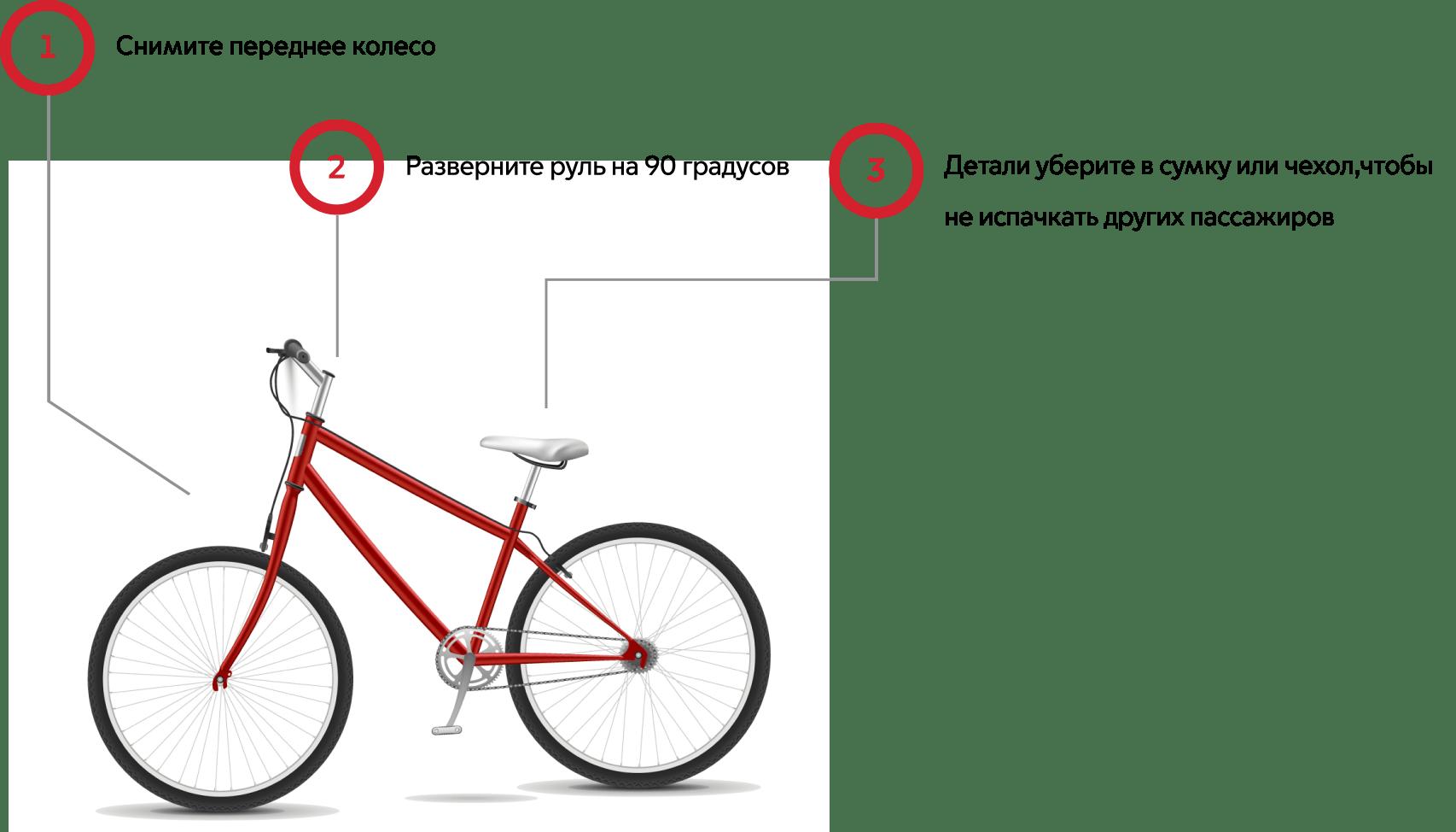 Провоз велосипеда