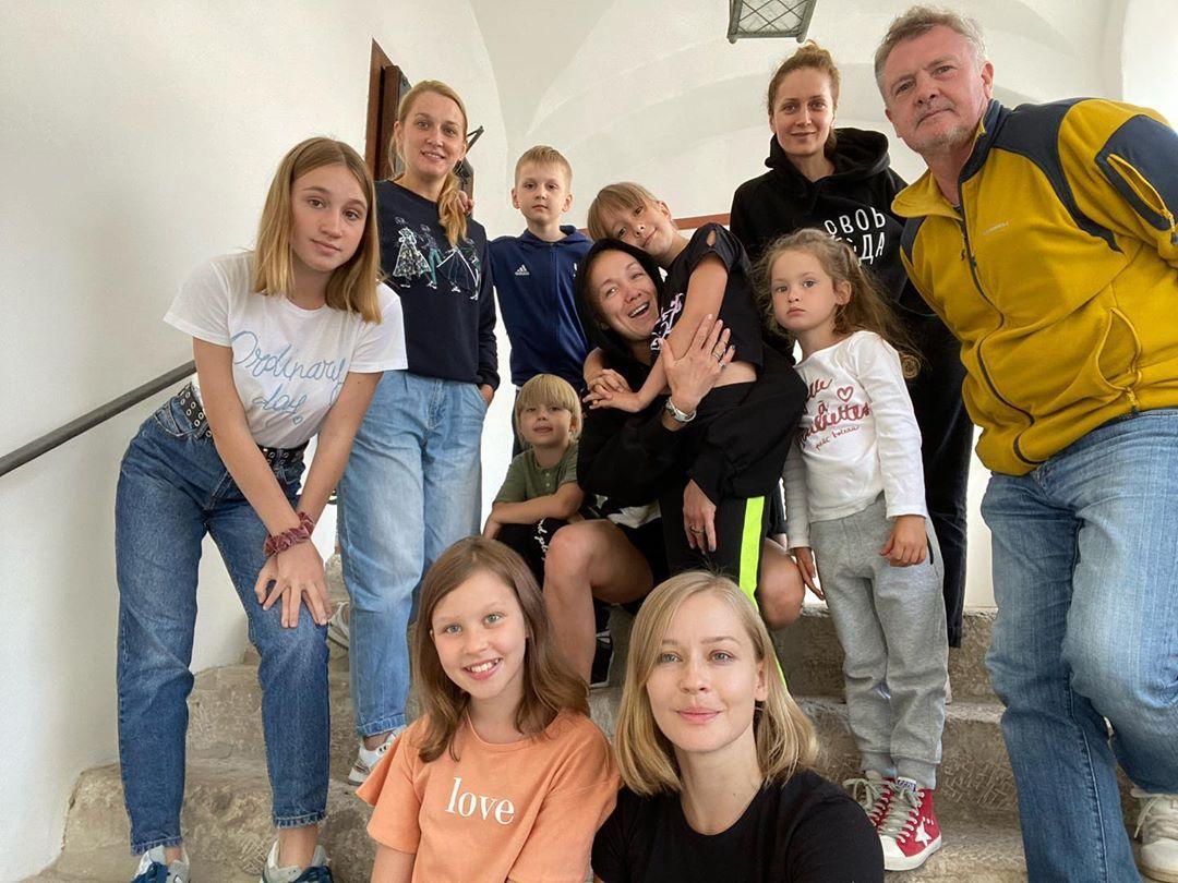 Дарья Мороз Юлия Пересильд Виктория Исакова дети
