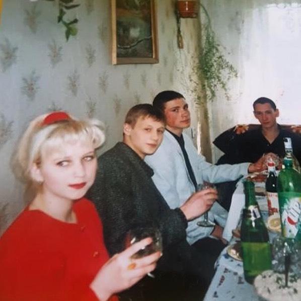 Антон Хабаров в юности