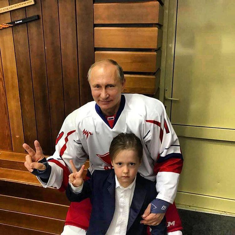 Павел Буре сын Путин