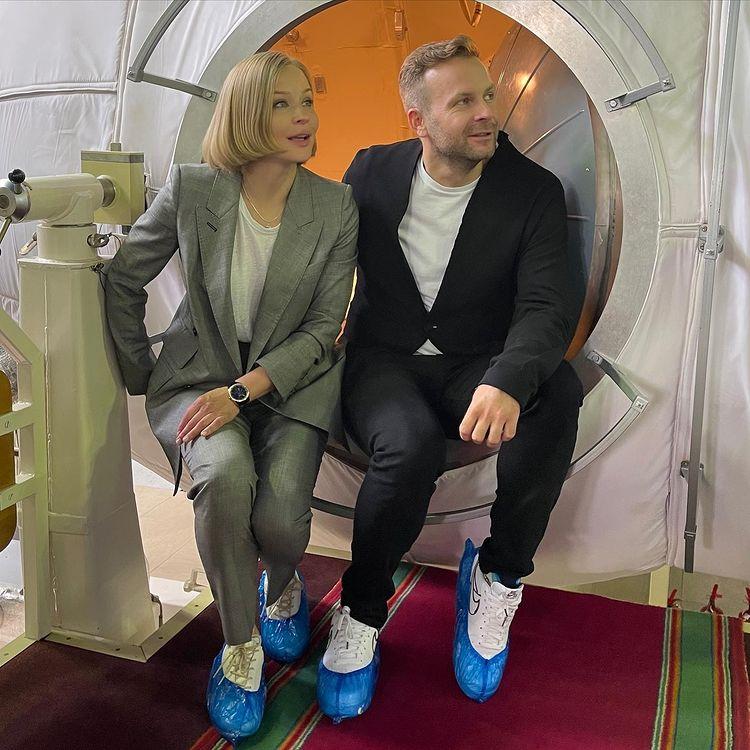 Юлия Пересильд и Клим Шипенко