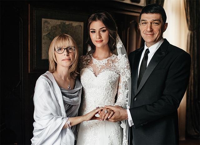 Свадьба Анастасии Шубской Вера Глаголева с мужем