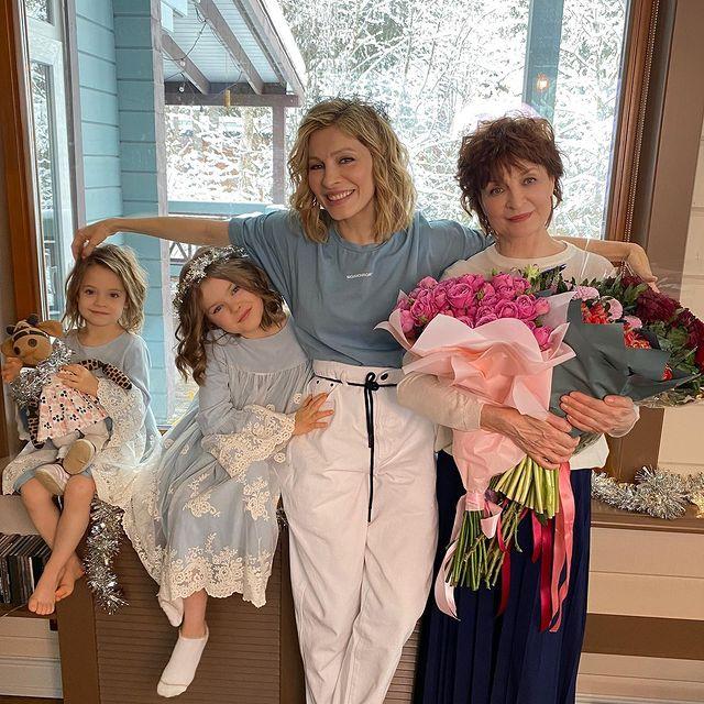 Елена Подкаминская семья