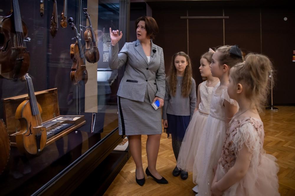 Новые программы для детей в Музее музыки