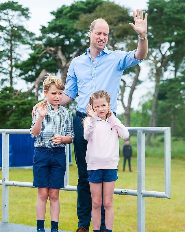 принц Уильям дети