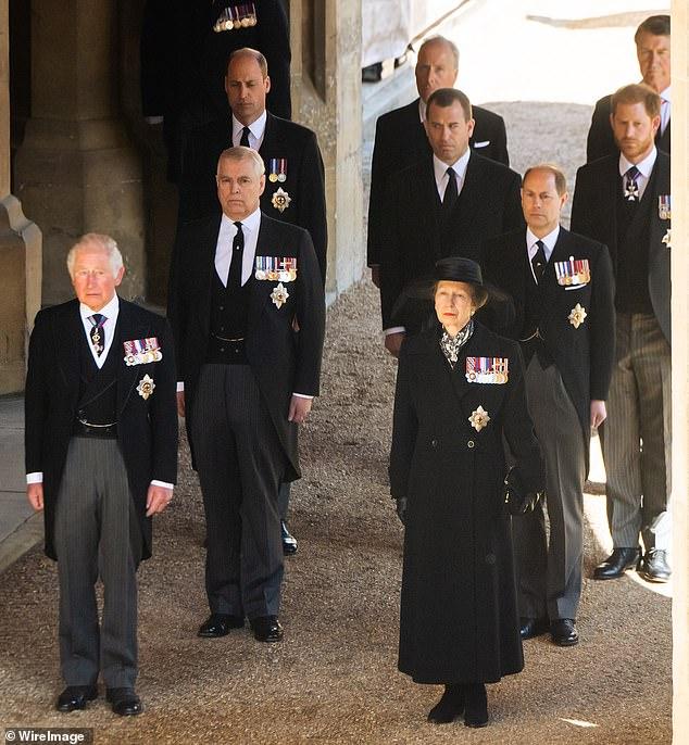 похороны принца Филиппа