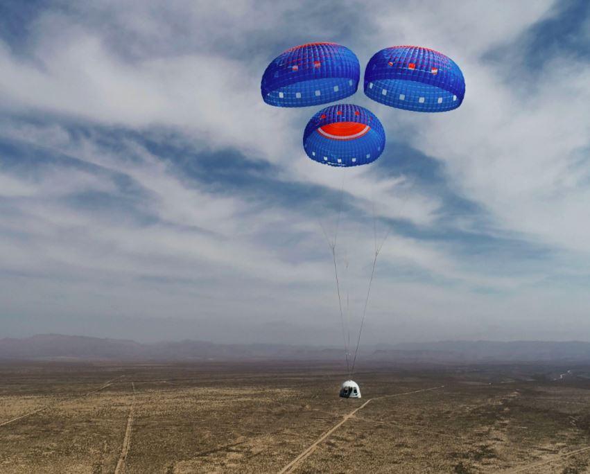 Спускаемая капсула Blue Origin