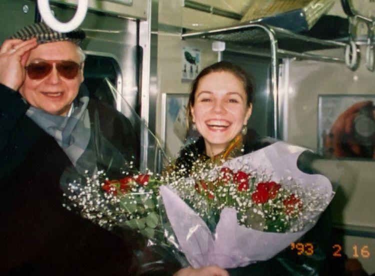 Олег Табаков Марина Зудина в молодости