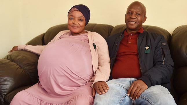 Госиаме Тамара Ситхол из ЮАР родила сразу 10 детей