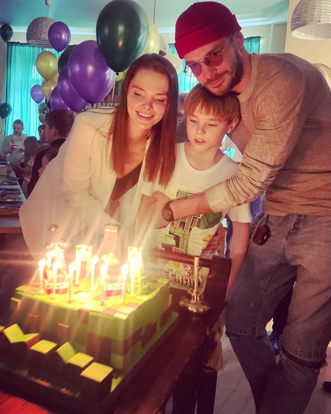 Елизавета Боярская Максим Матвеев дети
