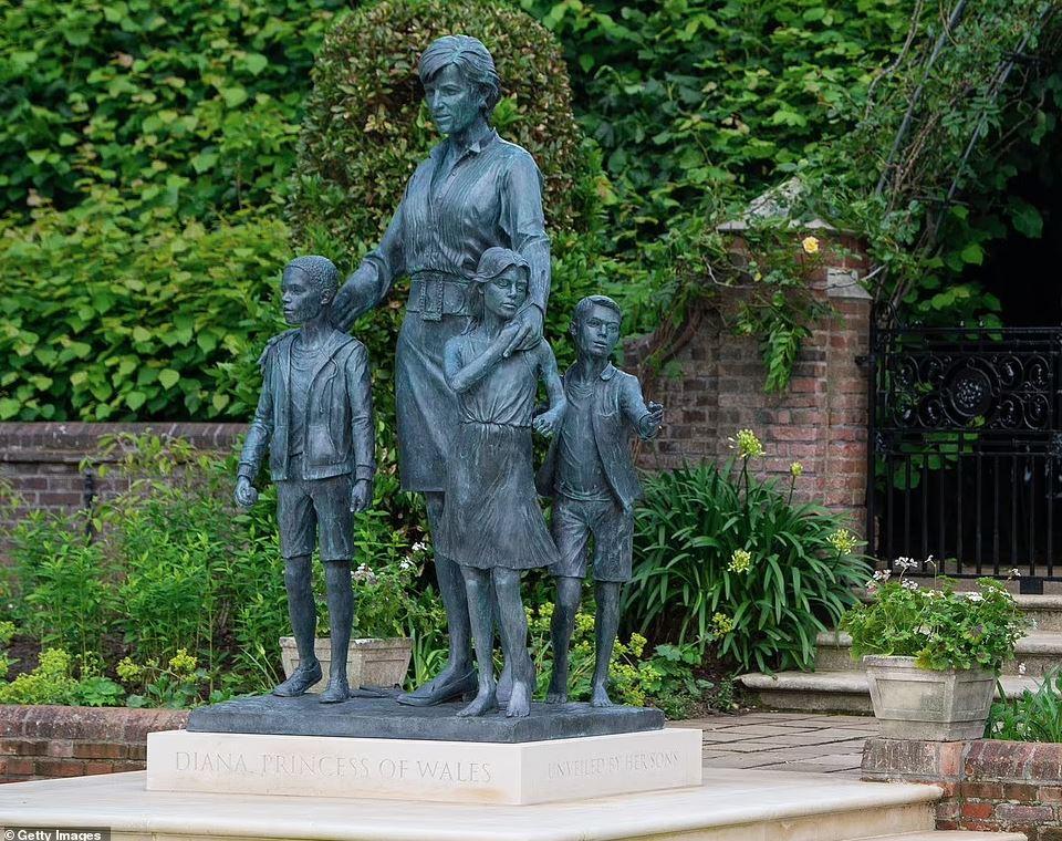 памятник принцессе Диане